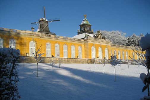 Palaces in winter